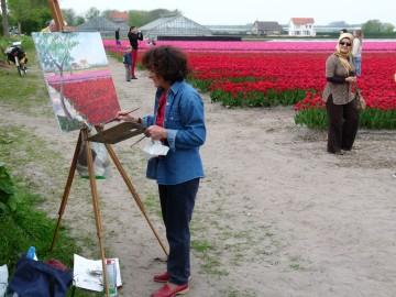 X. ARTIST AT WORK..